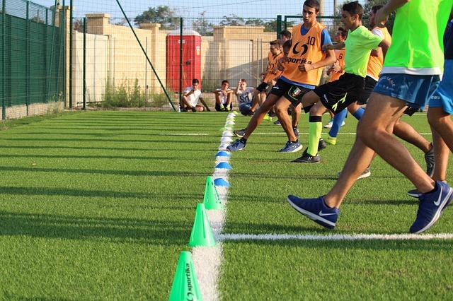 trening piłka nożna